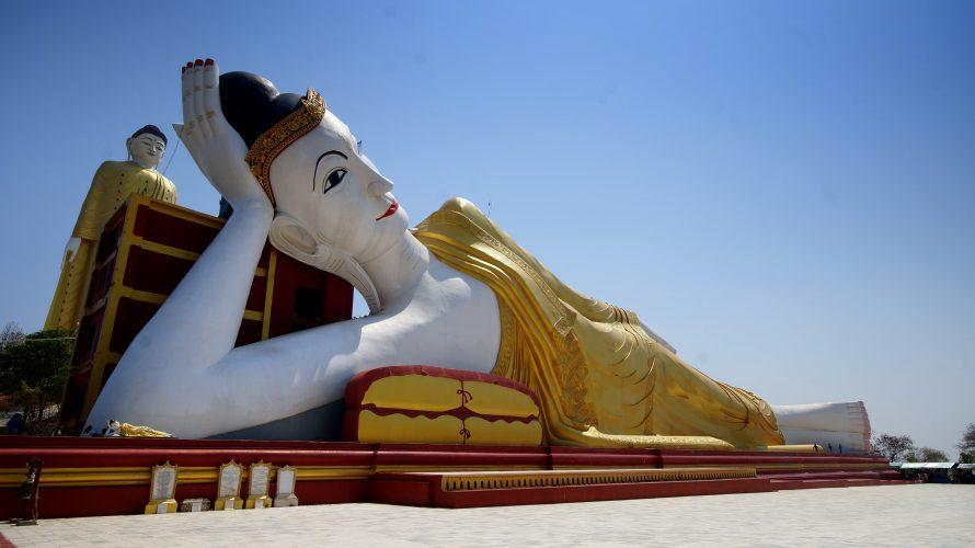 Über Monywa nach Bagan: Tausende Buddhas und eine abenteuerliche Weiterreise