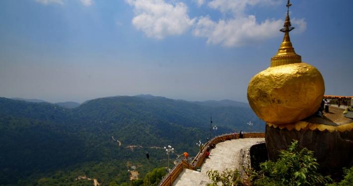 Golden Rock Pagode: In 2 Tagen von Yangon über Bago und Kyaikto nach Hpa-an Golden Rock