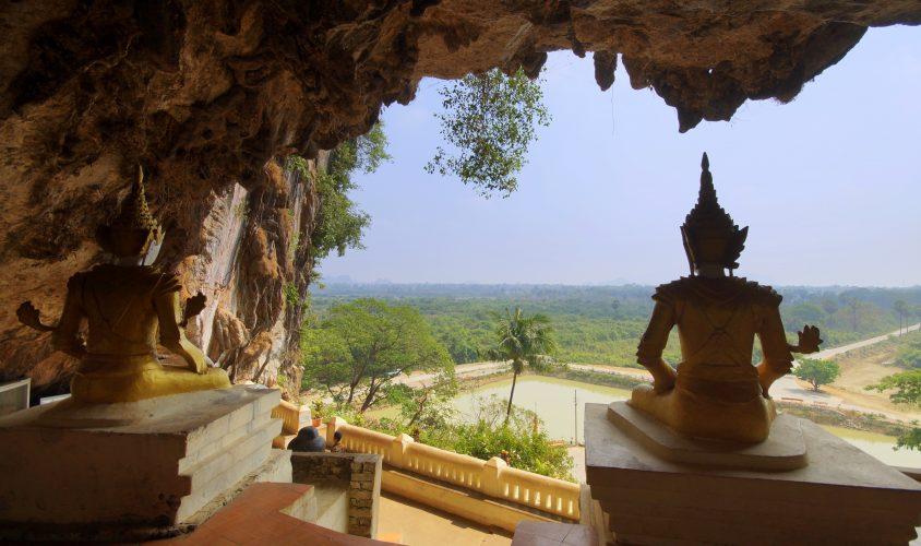 Hpa-an: Karstfelsen, Höhlen und grandiose Aussicht