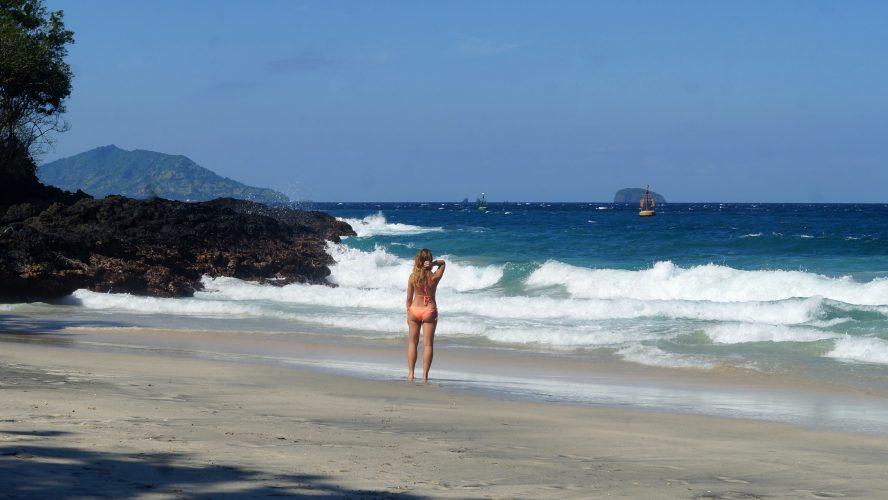 Bali's Ostküste: White Sand Beach und alte Fischerboote