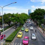 Straßen in Bangkok