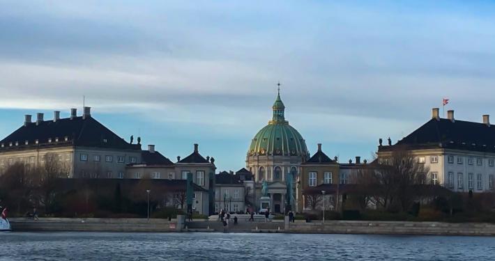 Amalienborg mit Marmorkirche
