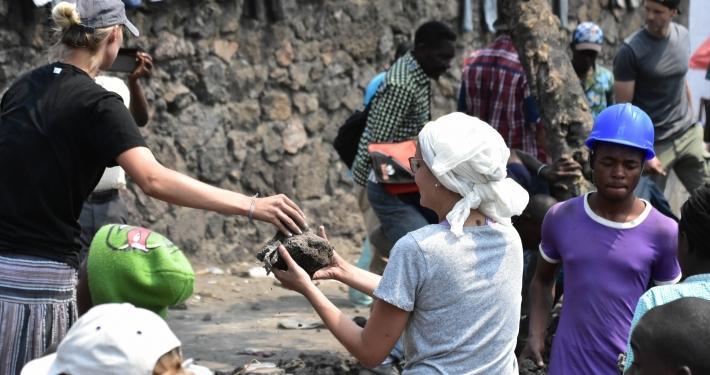 Baustelle Kongo