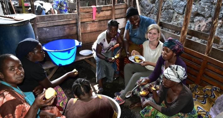 Baustelle Goma