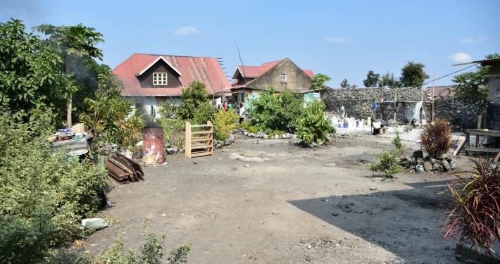Grundstück von Familie Balibanga