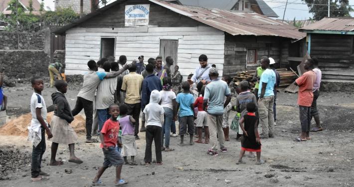 Kinder im Kongo
