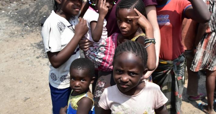 Hilfseinsatz Kongo