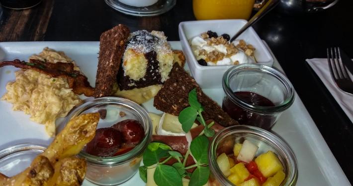 Frühstück im Kitchenette