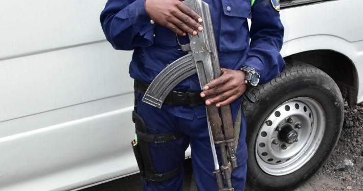 Polizeischutz