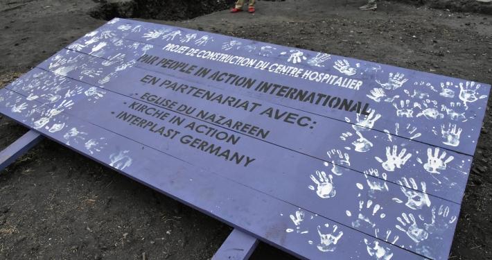 Sinas Hilfseinsatz im Kongo: ein neues Krankenhaus für Goma Kongo