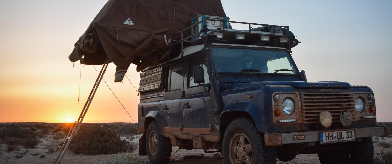 Reiss aus: Zwei Jahre mit dem Land Rover durch Westafrika reiss aus