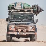 Landrover in Westafrika