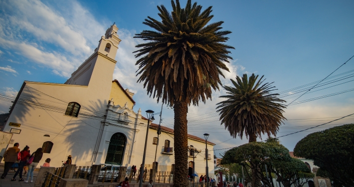 Kirche La Merced in Sucre
