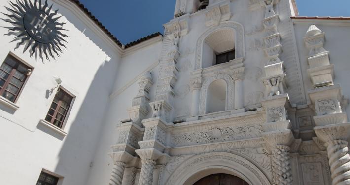 """Kirche """"Santa Monica"""" Sucre"""