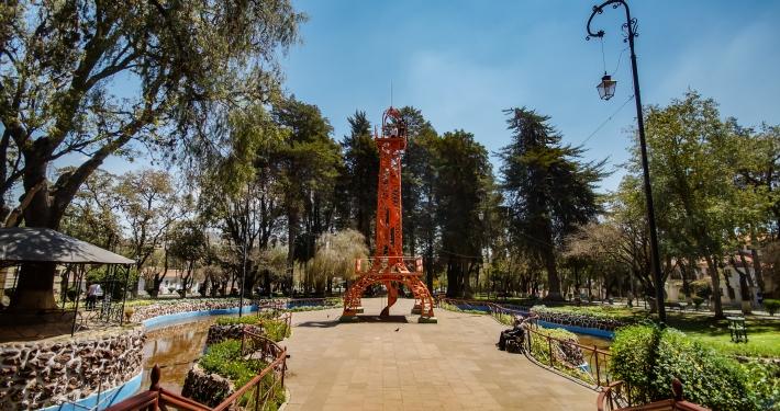 """""""Parque Simón Bolívar"""" Sucre"""