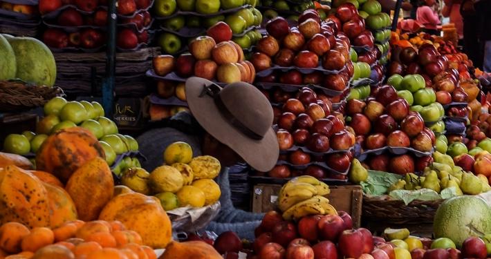 Obsthändlerin