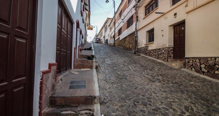 Unterwegs in Sucre