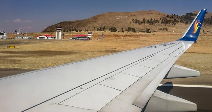 Flughafen Alcantari