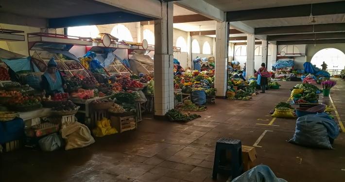 Markthalle in Sucre