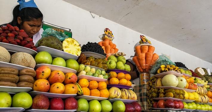 Saftbar in Sucre
