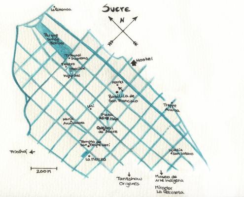 Karte Sucre