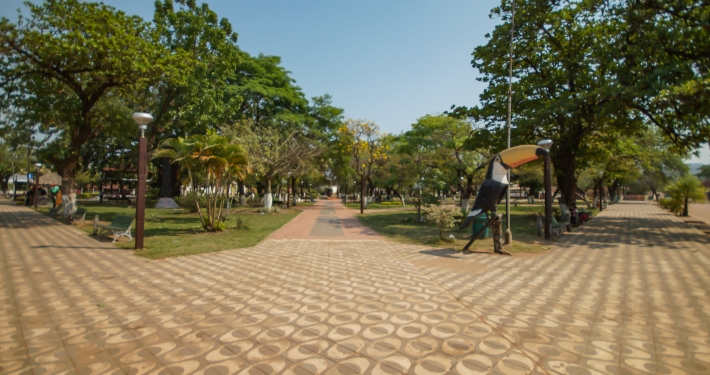 Hauptplatz von Roboré