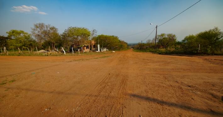 Straße zum Startpunkt Totaizales