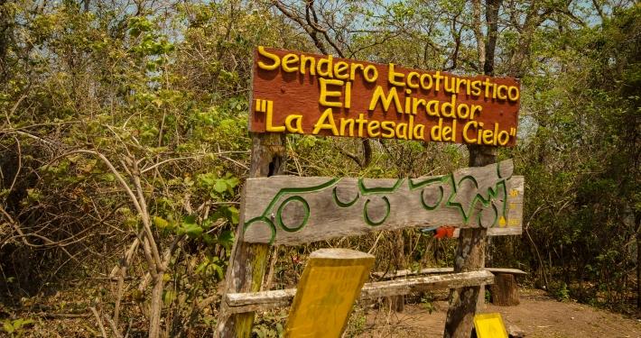 Wanderung zum Mirador La Antesala del Cielo