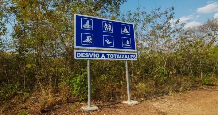 Wanderung zum Totaizales