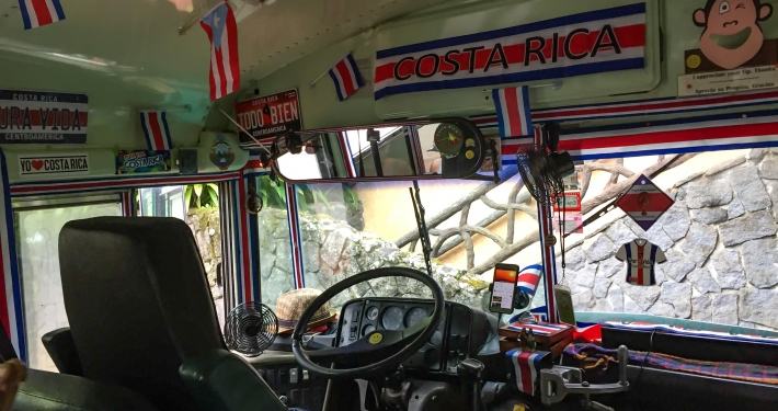 Bus in Costa Rica