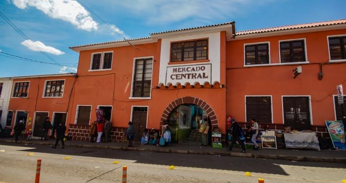 Markt von Potosi