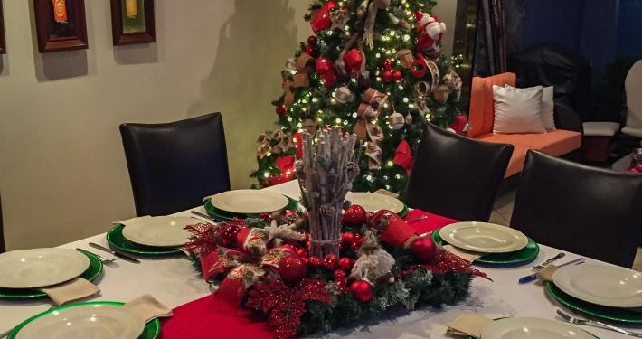 Essen mit meiner Gastfamilie