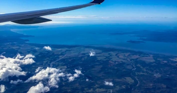 Flug nach Costa Rica
