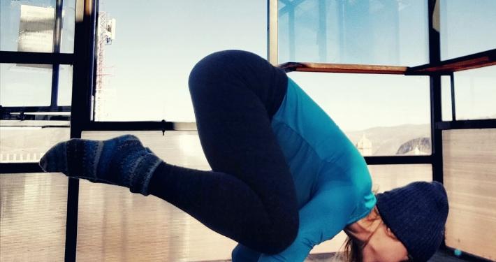 Yoga in Potosi