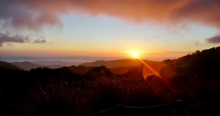 Monteverde Sonnenuntergang