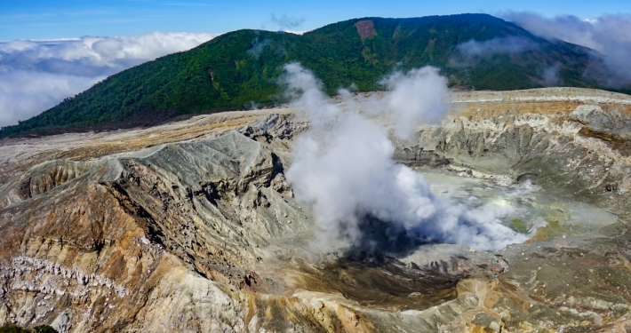 Poás Vulkan