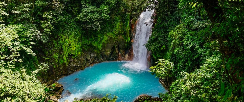 Río Celeste Wasserfall