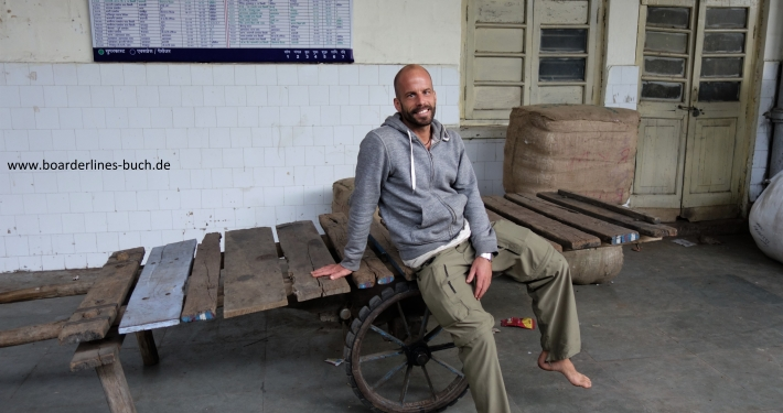 Andreas Brendt in Indien