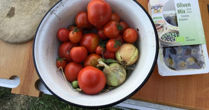 Gemüseanbau und Vanlife