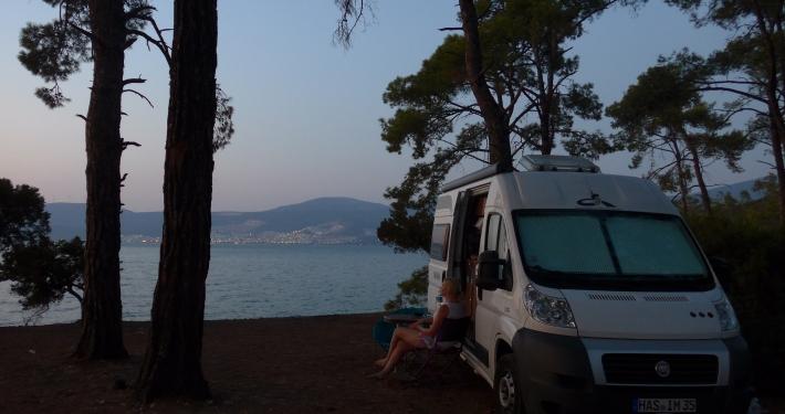 Vanlife Interview mit Lisa: Leben, Arbeiten und Backen im Fiat Ducato Vanlife