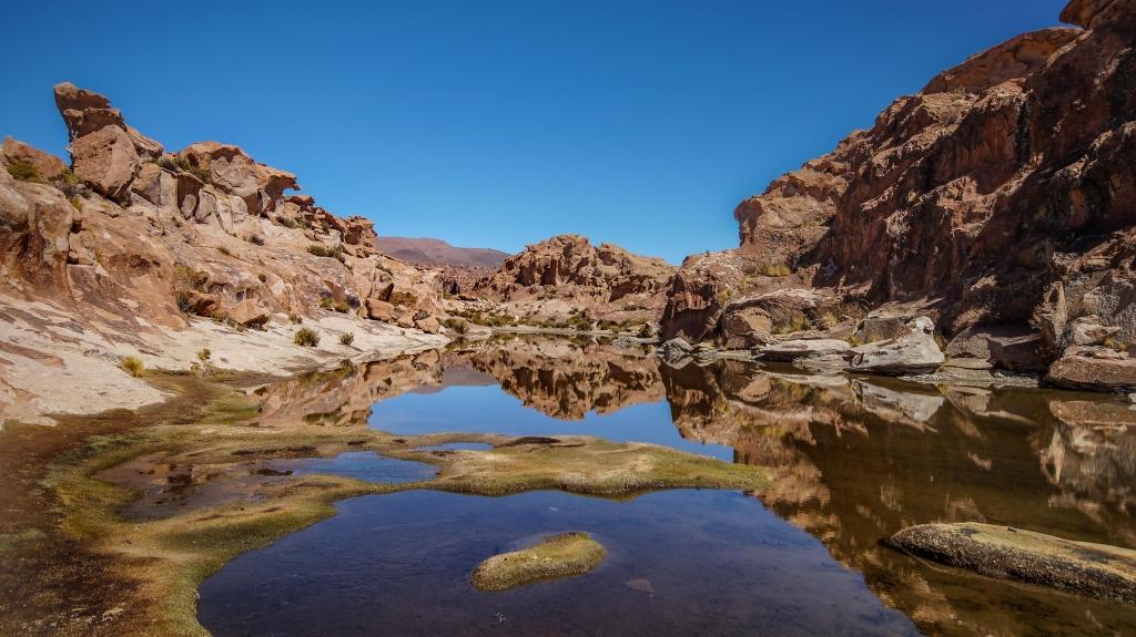 Uyuni-Tour Teil 3: magische Spiegelungen auf dem Weg zum Salzsee