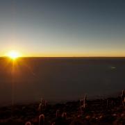 Vulkaninsel Bali: Sonnenaufgang auf dem Vulkan Batur vulkan