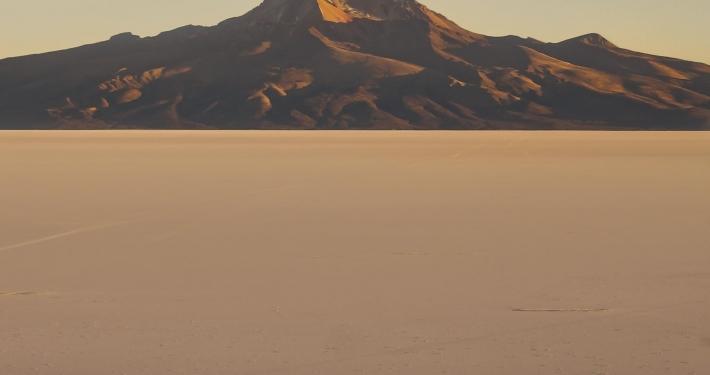 Uyuni-Tour Teil 4: Sonnenaufgang auf dem Salar de Uyuni Uyuni