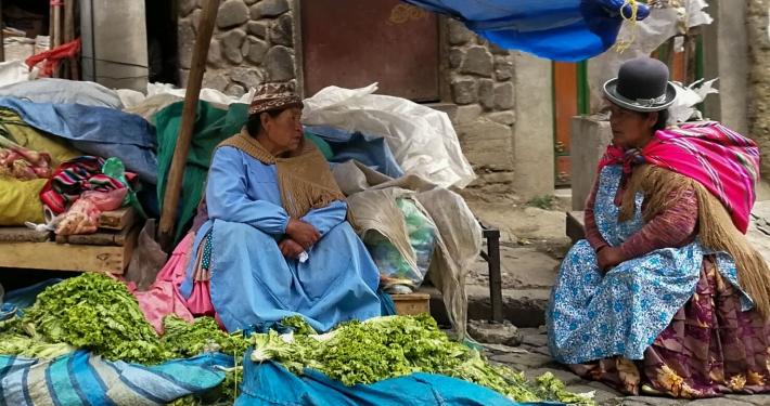 Cholitas La Paz