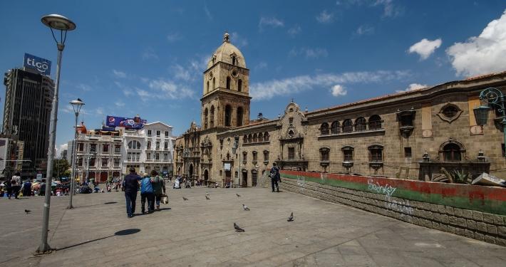 Basilica de San Francisco La Paz