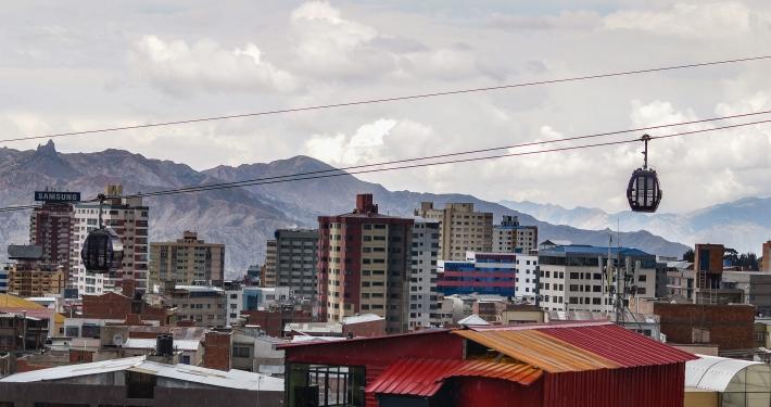 La Paz Seilbahn