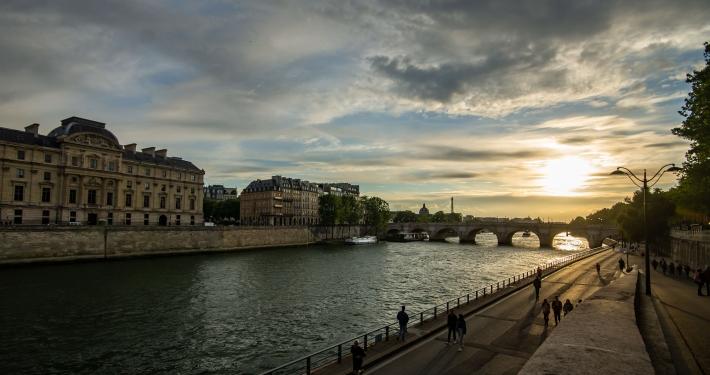 Seine Ufer Paris