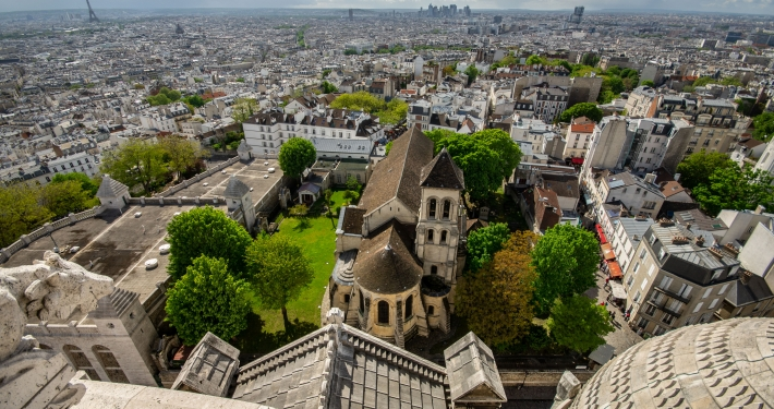 Highlights in Paris Sacre Coeur