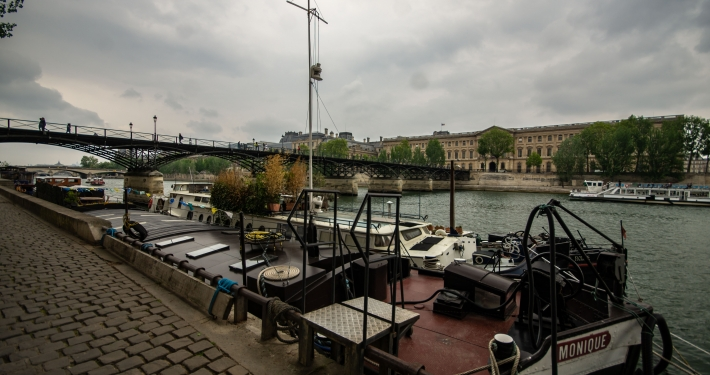 Highlights in Paris Seine Ufer