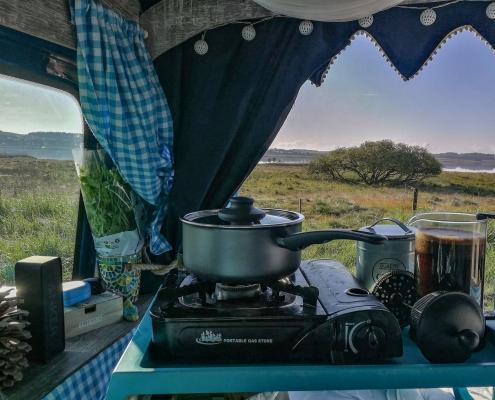 Campingkocher für den Vanausbau
